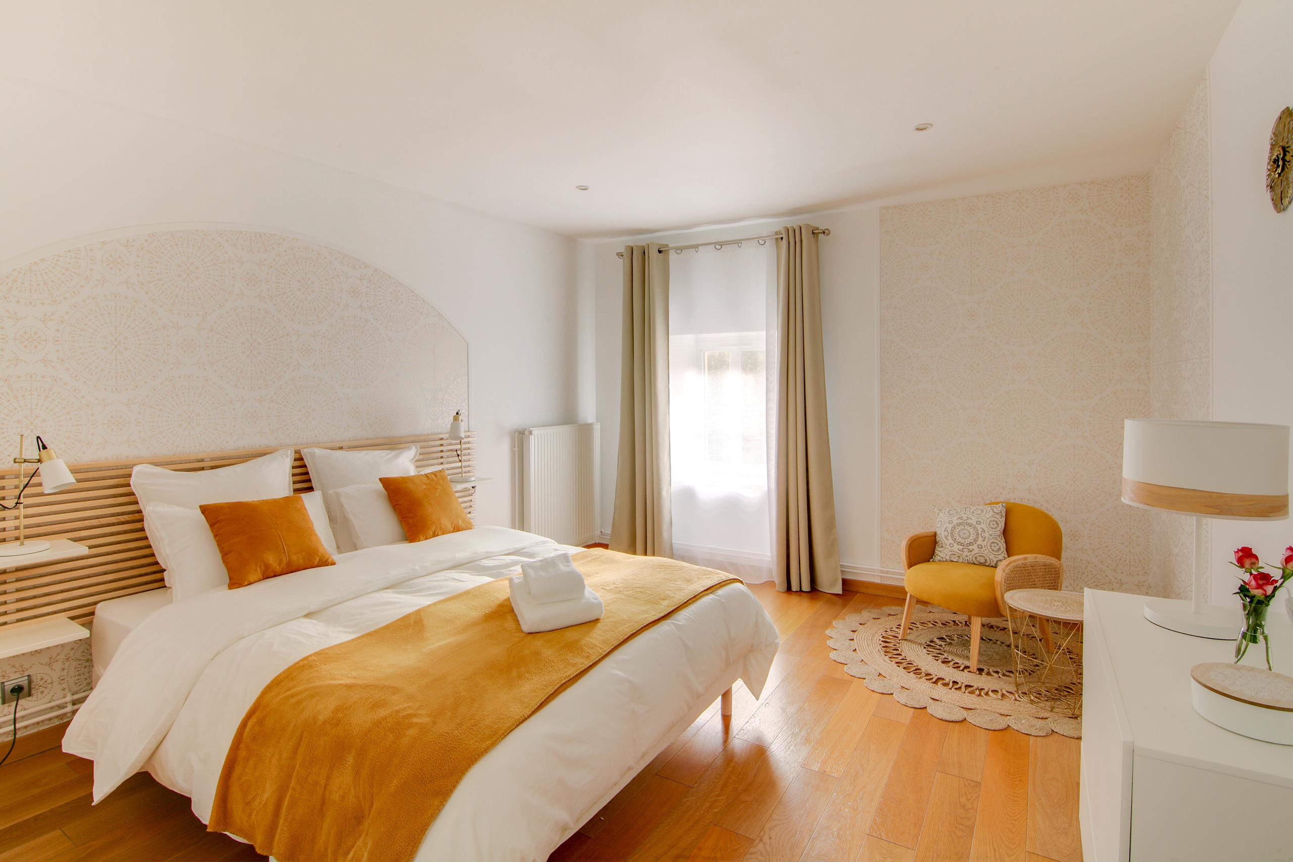 Chambre Mandala-Suite hygge- La Villa des Ducs