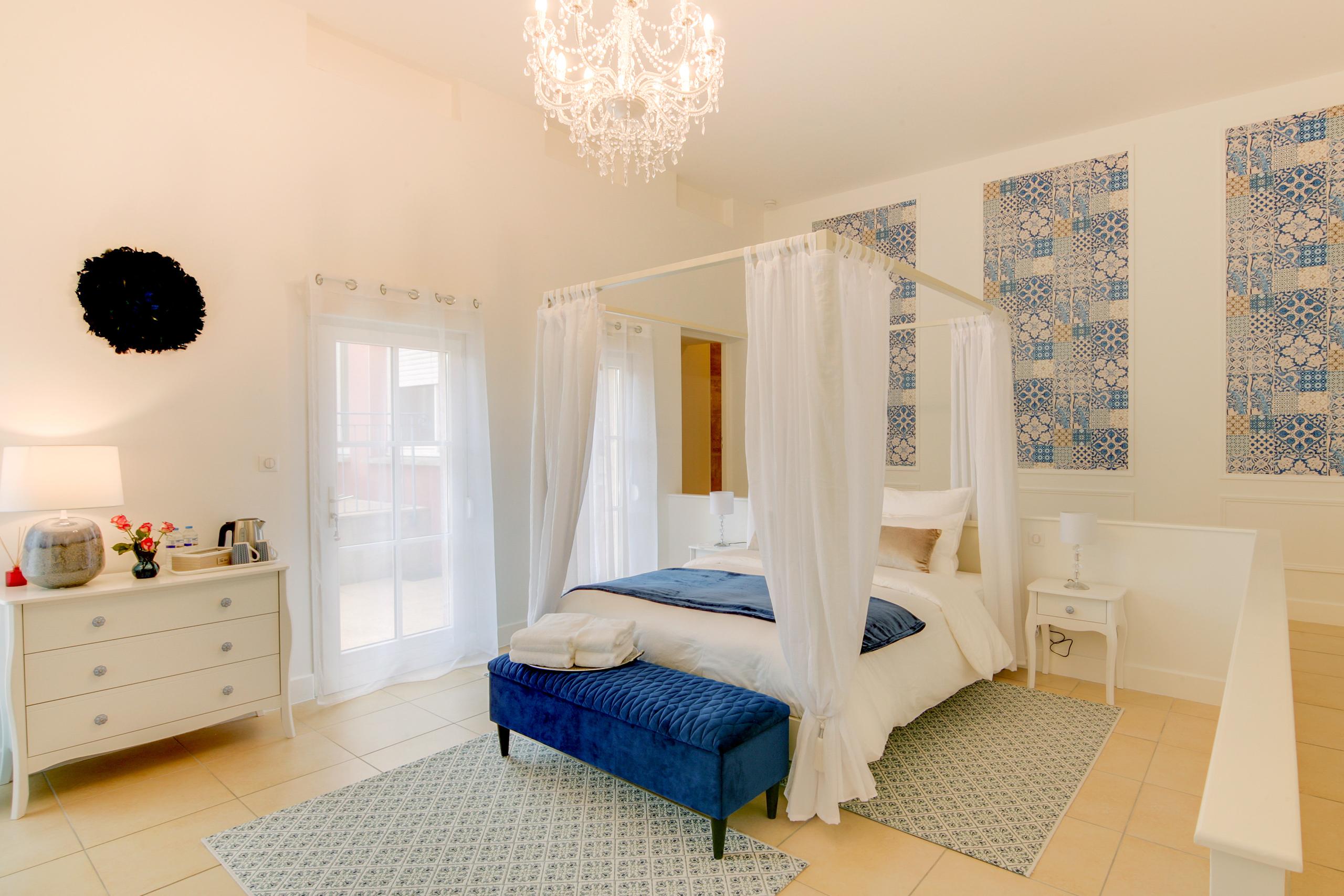 Chambre Céleste - La Villa des Ducs